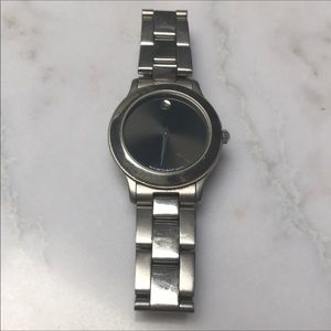 Authentic Movado Stainless Steel Watch